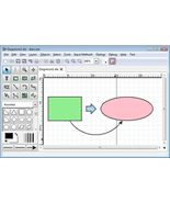 Dia Diagram Editor-Popular General Purpose Drawing Software Compare to M... - $5.99