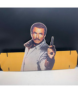 VINTAGE CARDBOARD HAT sign retro advertising Burt Reynolds Heat Stick Ga... - $67.32