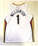 ZION WILLIAMSON AUTOGRAPHED SIGNED NEW ORLEANS PELICANS NIKE JERSEY FANA... - $854.99