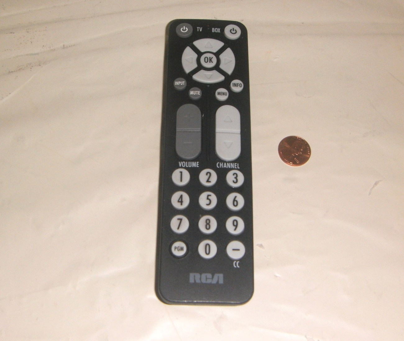 RCA Universal Remote RC27A and Converter Box Manual and remote codes  list inclu