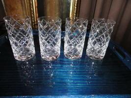 Faberge Crystal Oberon High Ball Glass - $175.00