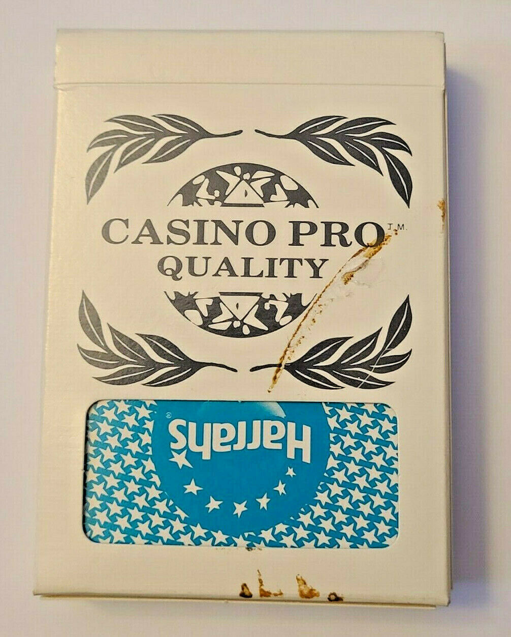 Harrah's St Louis Casino Playing Cards by GEMACO USA Blue Casino-used  (002)