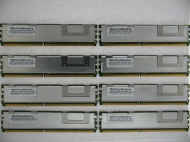 32GB KIT 8X4GB DELL 5300 FULLY BUFFERED POWERVAULT NF500 NF600 NX1950 RAM MEMORY
