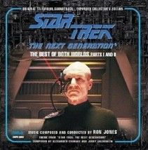 Star Trek: TNG The Best of Both Worlds I & II Soundtrack CD Expanded Edi... - $21.28