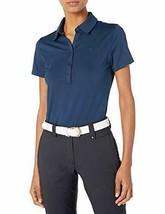 Under Armour Women's Zinger Short Sleeve Polo, Academy/Academy, Large - £24.80 GBP