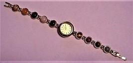 Vtg Women's ELGIN II Watch w/ Gorgeous Cabochon Jewels in Band - $50.00