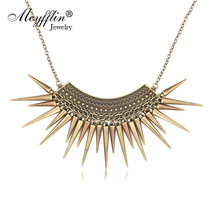 Colar Vintage Feminino 2019 Maxi Statement Necklaces & Pendants Collier ... - $9.71