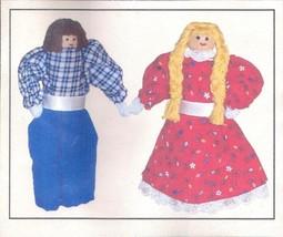 Clothespin Doll Kit Girl Boy 4701 2004 Historical Folk Toys - $16.82