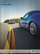 2013 Subaru BRZ deluxe brochure catalog 1st Edition US 13 GT 86 - $12.00