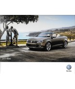 2013 Volkswagen EOS sales brochure catalog US 13 VW 2.0T Lux Executive - $9.00