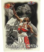 1998 Sky Box #83 NBA Hoops Atlanta Hawks Dikembe Mutombo - $1.53