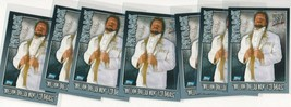 2006 Topps WWE Payback Card UK Version Rare HTF Lot of 7 Ted Dibiase - $2.00