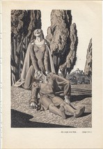 "Rockwell Kent ""...she wept over him"", The Decam... - $11.83"