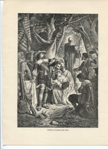 Weber's Prince Ottocar and Max. Klimsch. Antique 1892 wood engraving print. - $12.00