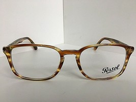 New Persol 3161-V 1050 Havana 52mm Rx Eyeglasses Frame Hand Made in Italy - $189.99