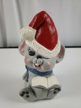 Christmas Figures Custom. Mouse w/ Santa Hat - $12.19