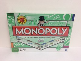 New Sealed 2009 Hasbro Monopoly Board Game With Speed Die  - $13.67