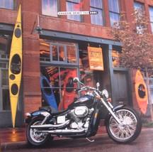 2001 Honda Shadow Spirit 750 Motorcycle Brochure  Xlnt - $10.58