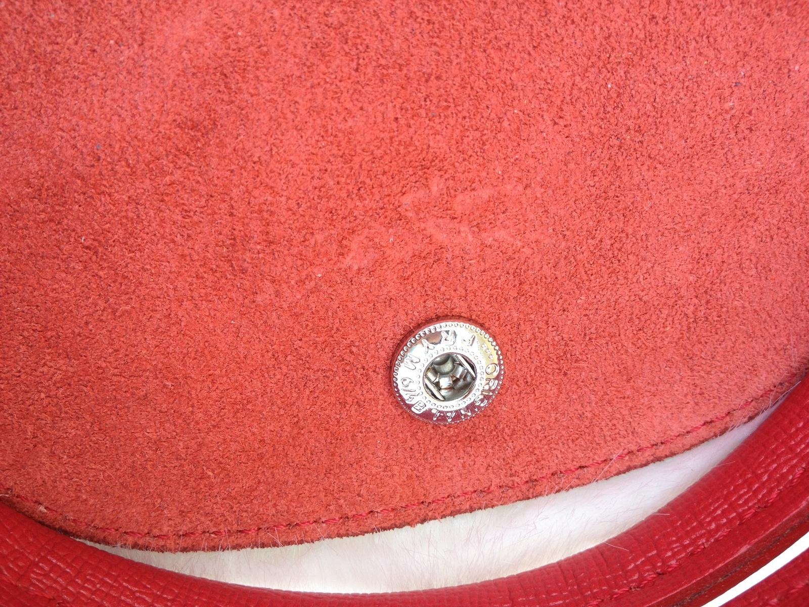 Longchamp Le Pliage Medium Red Handbag Neo Shoulder Strap 1512578545