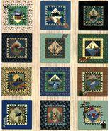 12 Spirit Of The Northwoods Deer Moose Quilt Blocks Wallhanging Applique... - $13.99