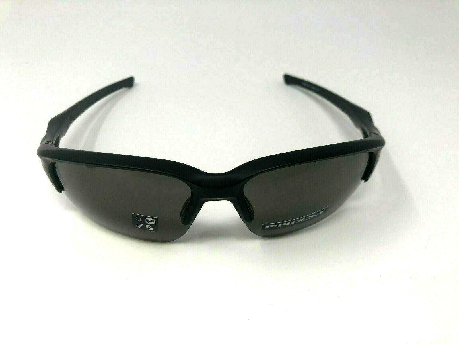 Nuovo Oakley Flak Beta Prisma Sunglasses Matte Black W/Grigio Prisma OO9363-1064
