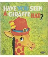 Have You Seen a Giraffe Hat 1969 Whitman Tell A Tale Irma Joyce Robert S... - $9.89