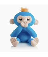 Fingerlings HUGS  Boris Blue Advanced Interactive Plush Baby Monkey Pet Toy - $39.59