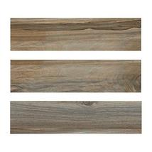 6x24 Marina Walnut Porcelain Plank Wood Look Field Tile Floor Sold by Piece image 4