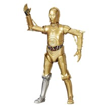 C-3PO Exclusive Action Figure Silver Right Leg - $19.59
