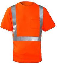 XL Orange ANSI 107 Class II Shirt - $25.73