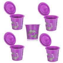 5 pcs/set Keurig Reusable K-cup Filter for 2.0 & 1.0 Keurig Brewers - $11.78