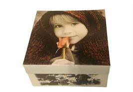 Pretty as Picture Kim Anderson Box for trinkets jewelry Enesco Classico ... - $17.37