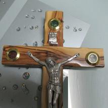 """Catholic Olive Wooden Jesus Christ Crucifix 10"""" (25cm) Large Hall Hanging - $45.00"""