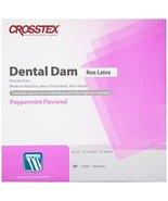 Crosstex 19500 Dental Dam, Non-Latex, Peppermint Flavor, Medium Gauge, P... - $17.42