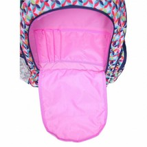 "NEW Double Dutch Club 18"" Kaleidoscope Backpack w/ Padded Straps & Laptop Pocket image 2"