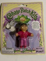 """Cabbage Patch Kids Keychain Girl Doll Basic Fun 2004 #1198 New In Package 3"""" - $11.59"""