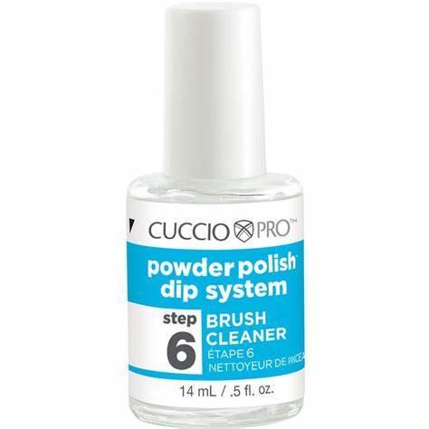 Cuccio Pro Step 6 - Brush Cleanser