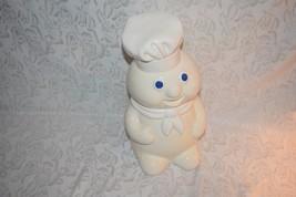Pillsbury Doughboy Ceramic Cookie Jar 12-Inch Benjamin & Medwin Co Vinta... - $38.56