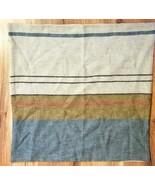 Pottery Barn Throw Pillow Cover SARITA HANDA Linen STRIPES 22x22 NWOT #8 - $39.00