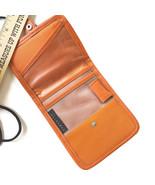 Travelon Passport ID Holder Neck Strap Boarding Pass Transparent Wallet ... - $18.76