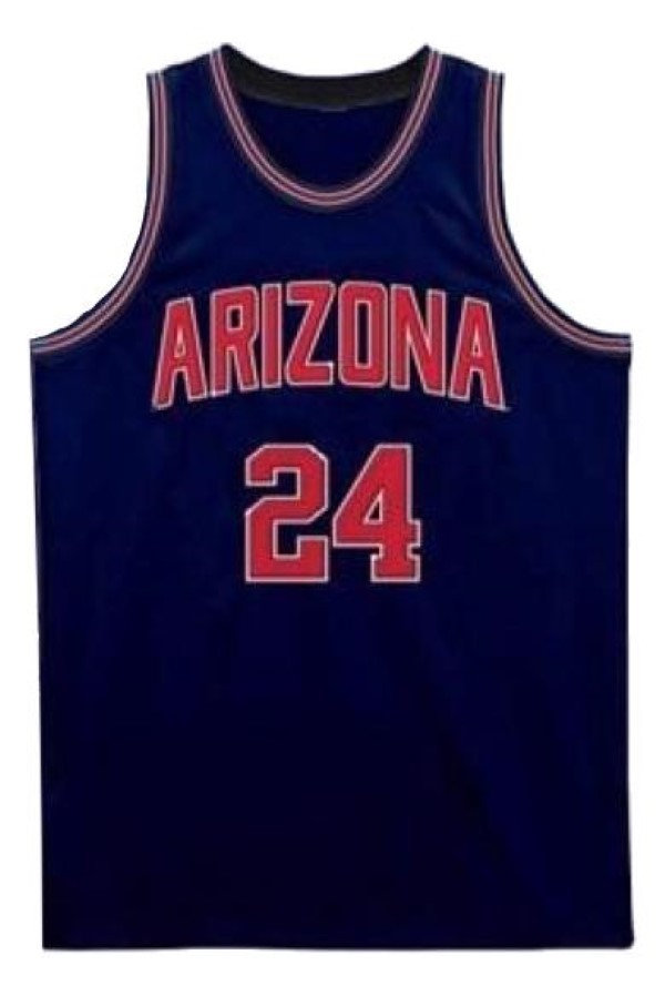 Andre iguodola arizona wildcats college basketball jersey navy blue 1