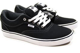 VANS Mirada (Twill) Black/White UltraCush Chukka Low Men's Skate Size 7 - $49.95