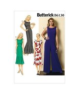 Butterick Patterns 6130 A5 Sizes 6 - 8 - 10 - 12 - 14 Misses Dress and J... - $14.70