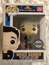 Funko Pop! Marvel #250 Thor: Ragnarok Bruce Banner Exclusive #250 - $9.95
