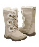 Nine West Girl's Daffodil Mid-Calf Fashion Winter Boots Size 8 White Fur... - $34.50