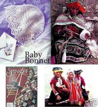 Spin-off magazine summer 2000: bonnet; resoleable socks - $19.75