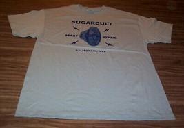 SUGARCULT Start Static T-Shirt California USA MENS LARGE Band NEW - $19.80
