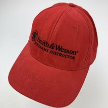 Smith & Wesson Firearms Instructor Red Adjustable Adult Ball Cap Hat - $14.84