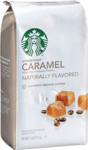 Starbucks Natural Fusions Ground Coffee, Caramel Flavored, 11 Ounce [Pac... - $33.74
