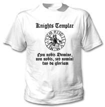 Knights Templar - New White Cotton Tshirt - $24.48